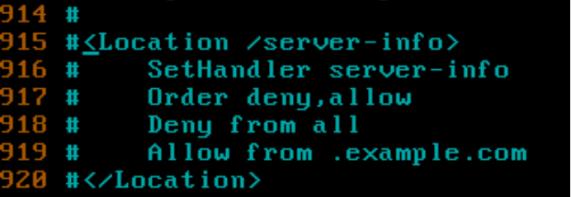 how to secoure apache server